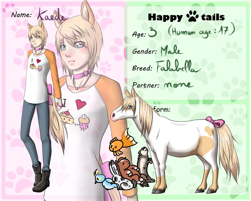 Happy-tails: Kaede by kiba-chan27