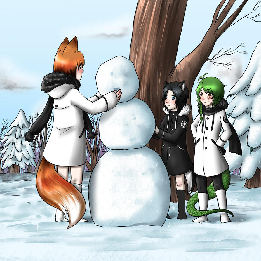 Do you wanna build a snowman ? by kiba-chan27