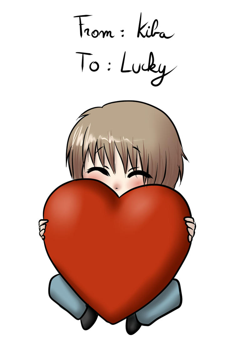 For my friend Lucky by kiba-chan27
