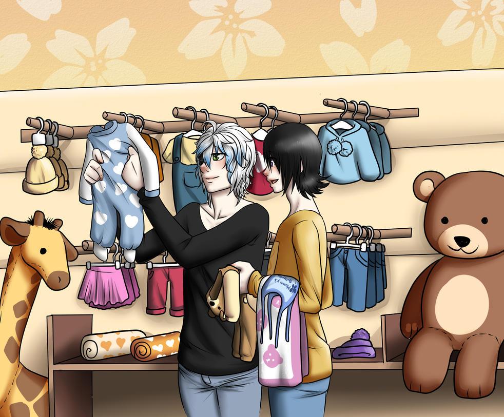 Baby shopping by kiba-chan27