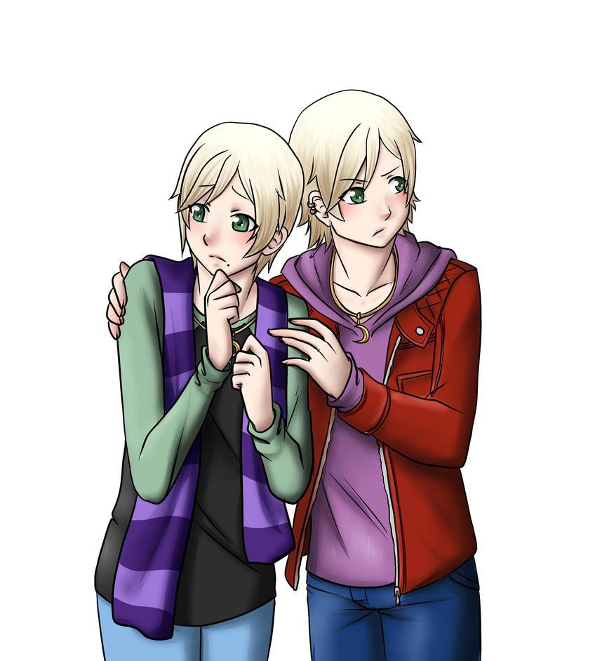 Chihiro and Kazuhiro by kiba-chan27