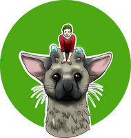 Trico and Jack by kiba-chan27