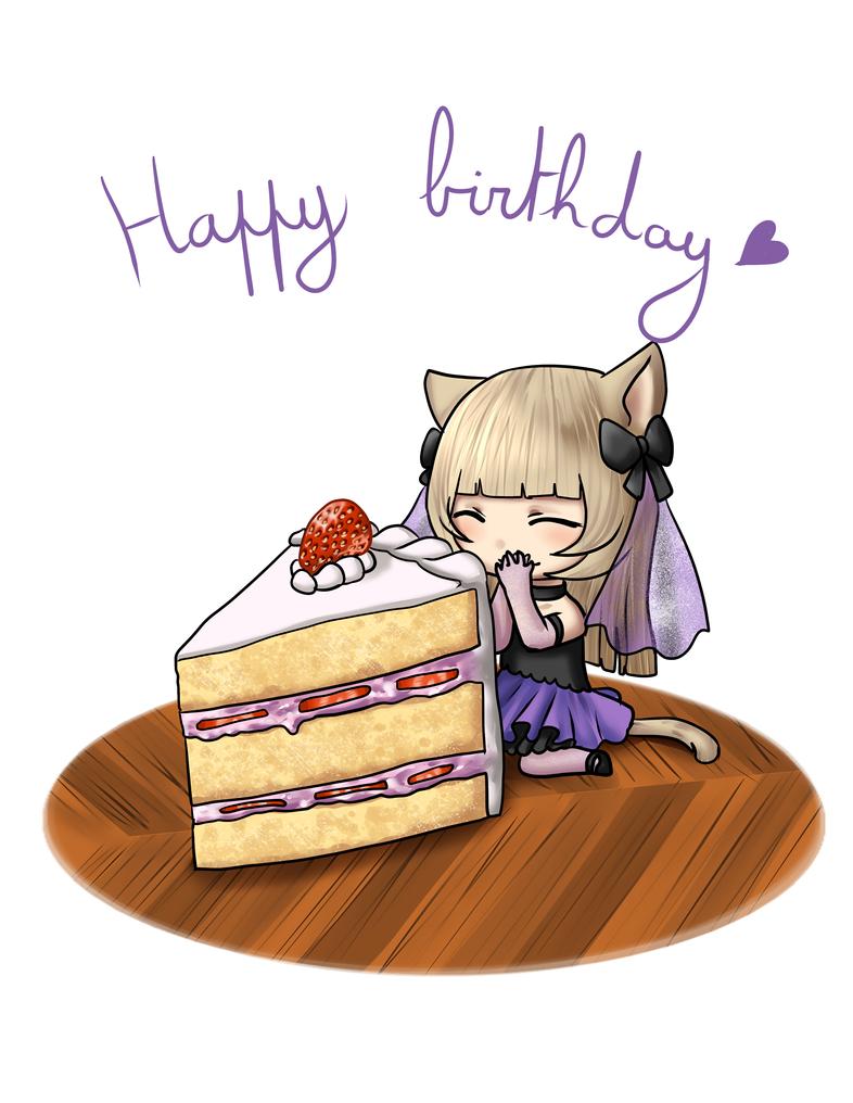 Happy birthday owo by kiba-chan27