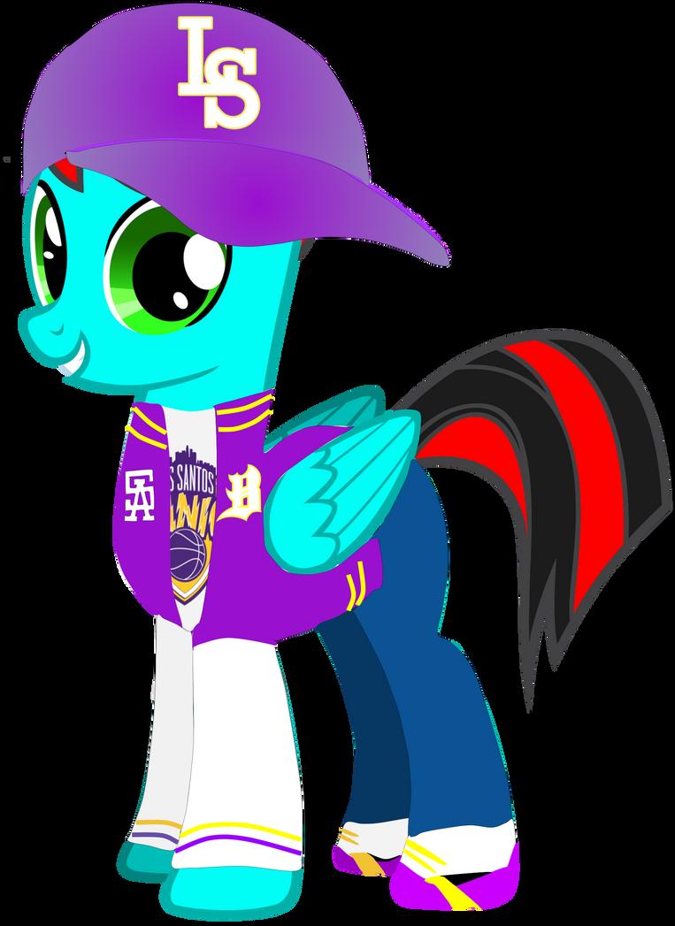 My Ponysona Dressed Up As A Balla (ReUpload)