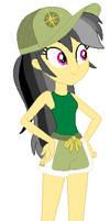 Daring Do EQG In Her Casual Summer Uniform
