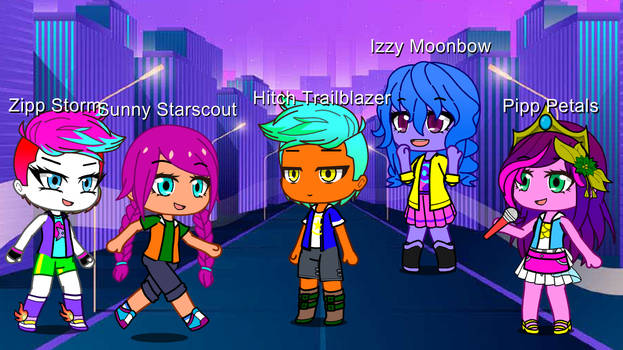 MLP A New Generation Characters In GC Form