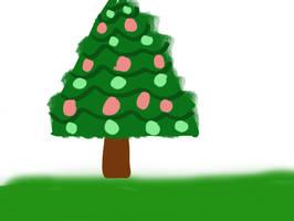 Christmas tree by sammy914