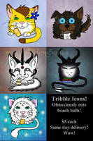 Tribble Icons! by AedenSolus