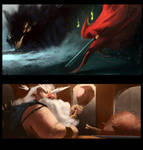 speed paintings about 30MIN