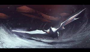white bat speed painting about 40MIN