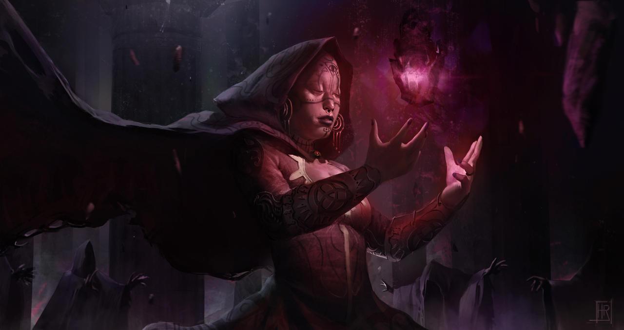 The black stone by hugo-richard
