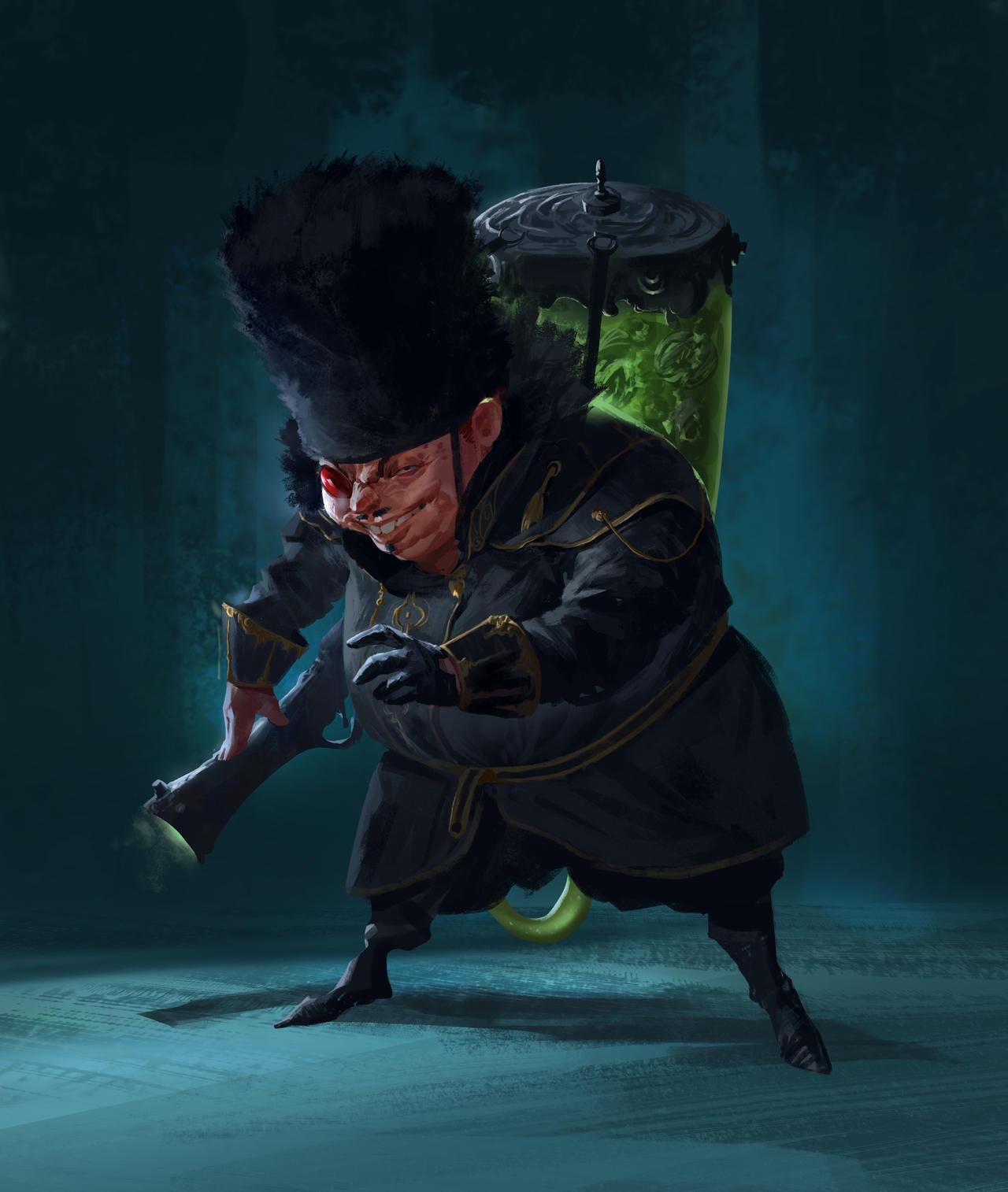 Kolosovisk by hugo-richard