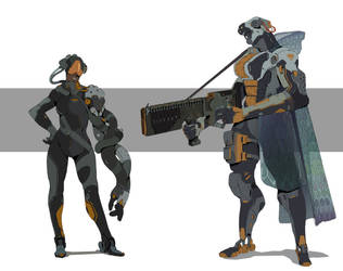 character design #3 by hugo-richard