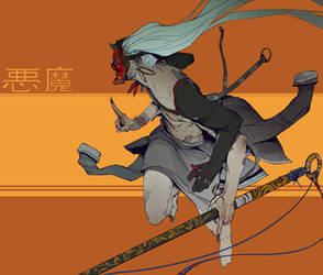 Freelance Killer - Akuma by hugo-richard