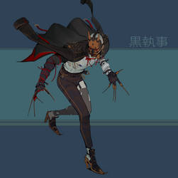kuroshitsuji ( freelance killer ) by hugo-richard