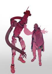 robot 71 by hugo-richard