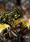 Dwarf vs Orc