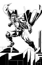 Jedi Warrior Inks by castortroy3497