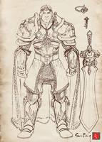 Sun King Sketch by castortroy3497