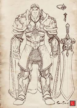 Sun King Sketch
