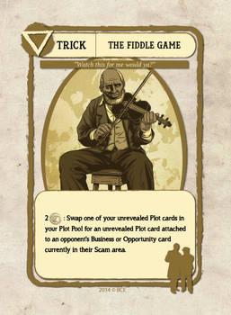 Fiddler Card Illustration