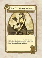 Foundation Work Card Illustration by castortroy3497