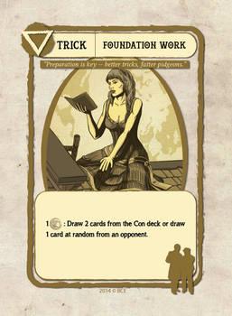 Foundation Work Card Illustration
