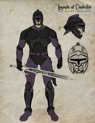 Purple Soldier by castortroy3497