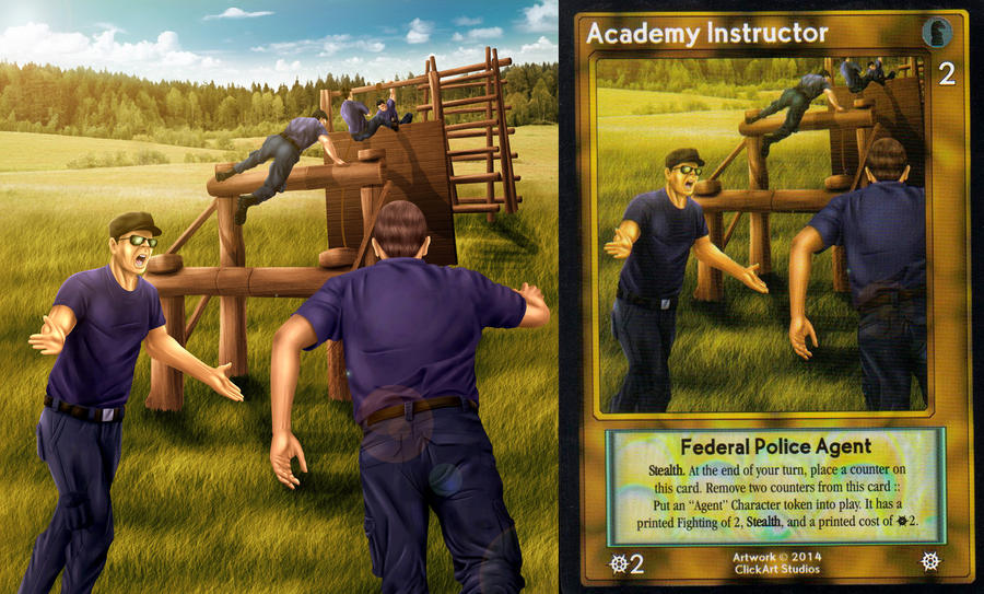 Academy Isntructor Card by castortroy3497