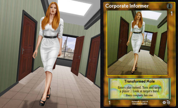 Corporate Informer Card by castortroy3497