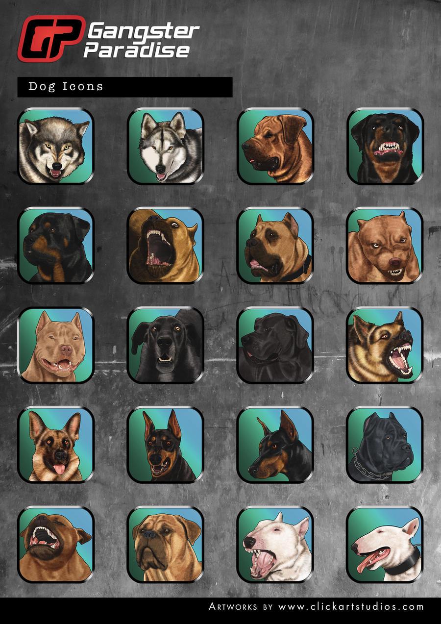 Dogs by castortroy3497