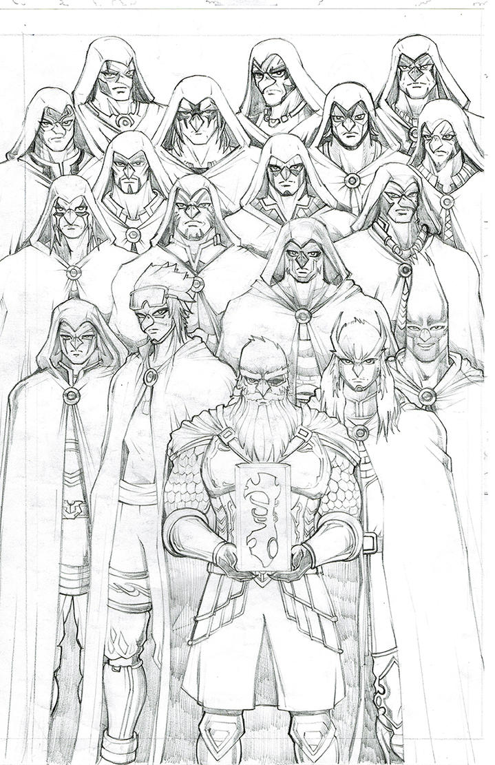 TSBC Collectors Edition Cover Sketch by castortroy3497