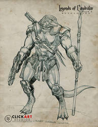 Lizard Soldier by castortroy3497