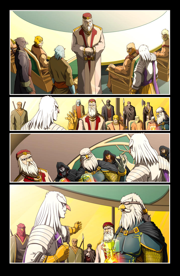 The Star-Band Chronicles Issue #1 Page 8 Artwork by castortroy3497