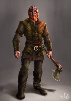 The Viking Colored