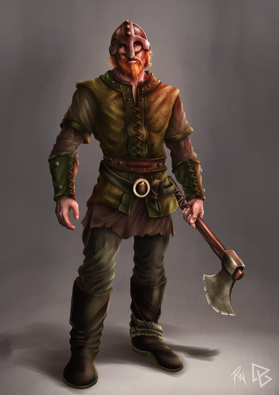 The Viking Colored by castortroy3497
