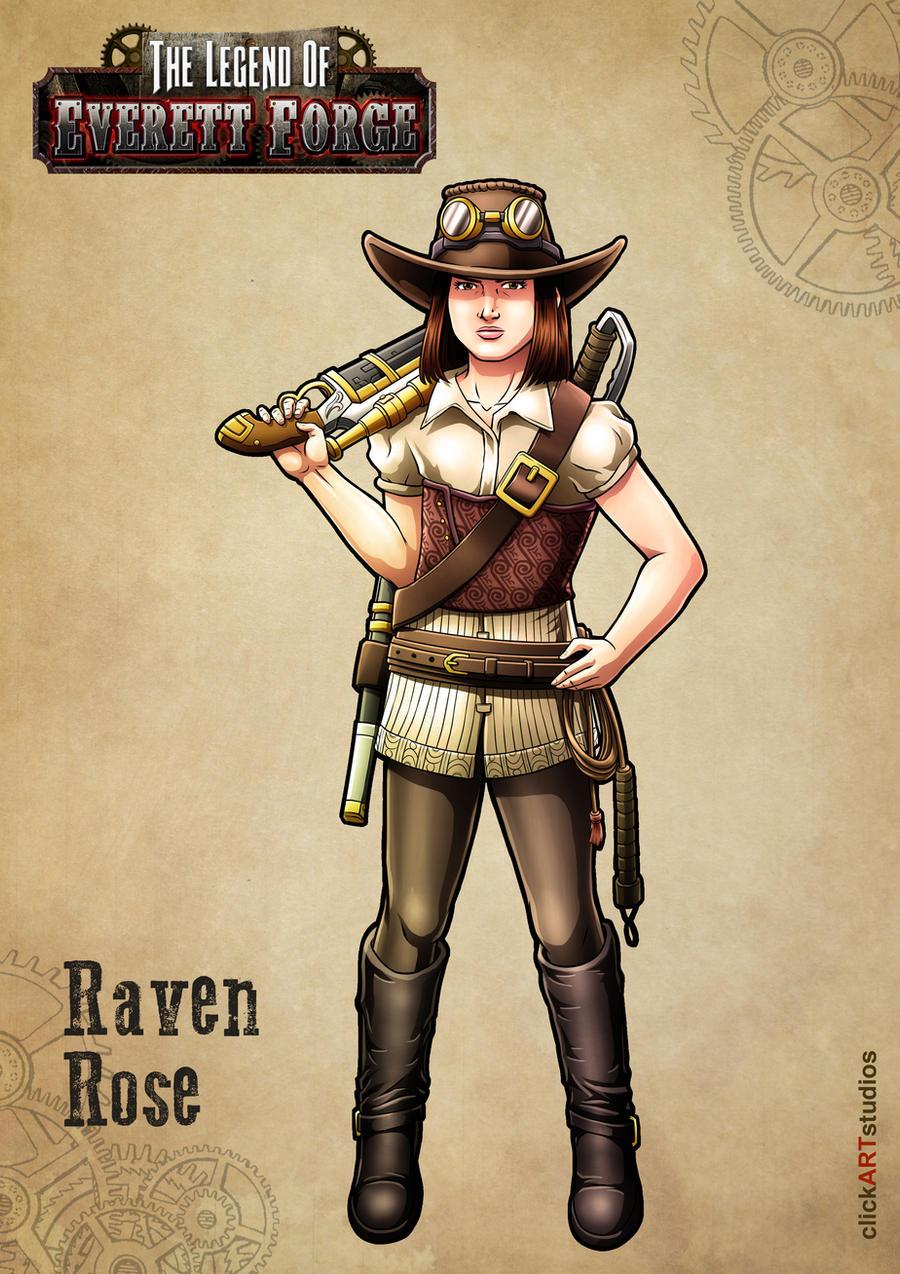Raven Rose by castortroy3497