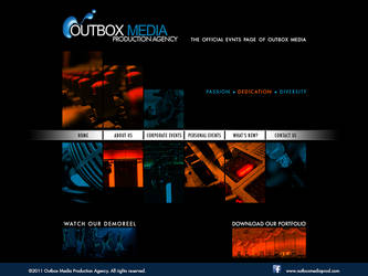 Outbox Media Website design Study 4 by castortroy3497