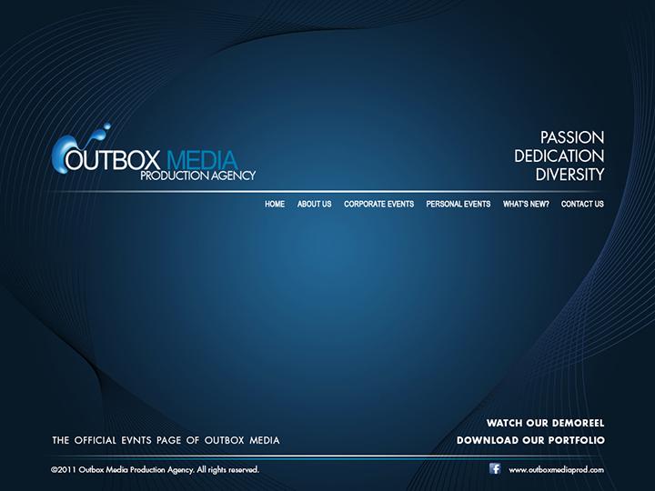 Outbox Media Website design Study 5 by castortroy3497