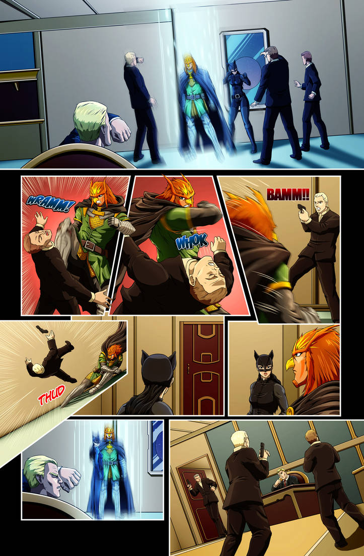 The Star-Band Chronicles Issue #2 Page 11 Artwork by castortroy3497