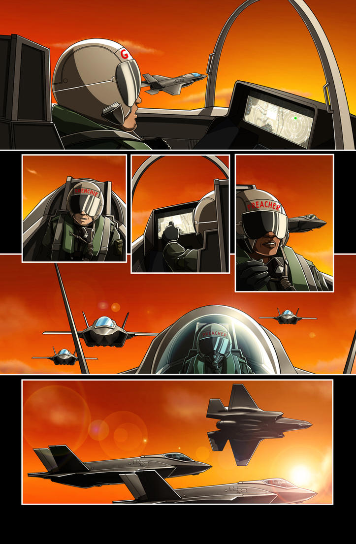 The Star-Band Chronicles Issue #2 Page 04 Artwork by castortroy3497