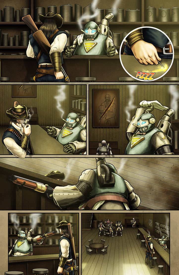 The Legend of Everett Forge Issue #1 Page 05 by castortroy3497