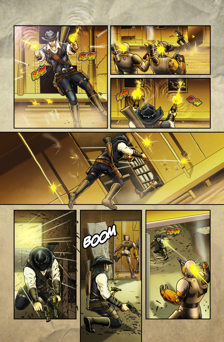 The Legend of Everett Forge Issue #1 Page 10 by castortroy3497