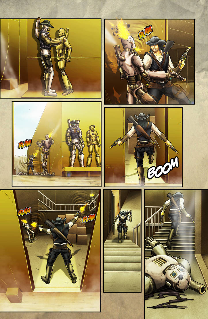 The Legend of Everett Forge Issue #1 Page 11 by castortroy3497