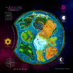 The Arkos World Map