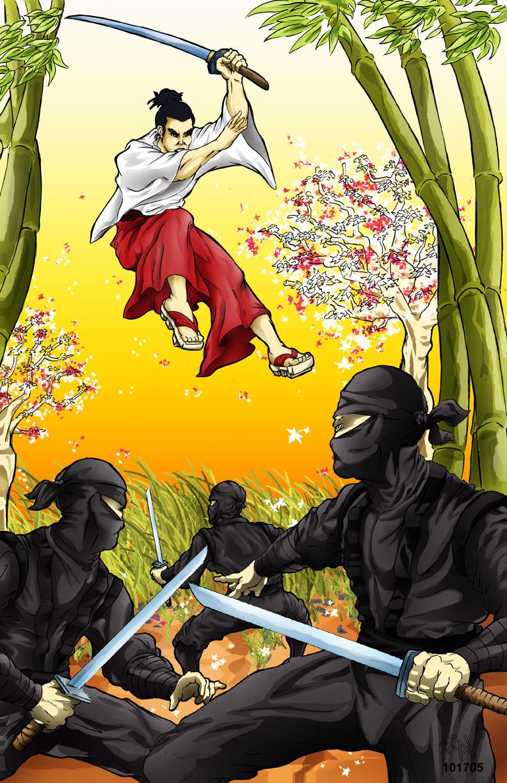 The Samurai by castortroy3497