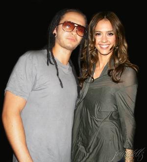 Tom Kaulitz and Jessica Alba