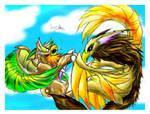 -_Aerial Battle Of The Skies_- by Eternalskyy