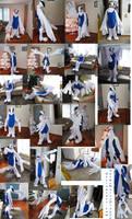 Lugia Fursuit Costume Kigurumi