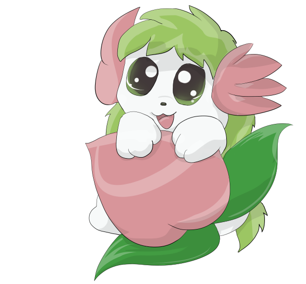 Shaymin Peachy Love by Eternalskyy